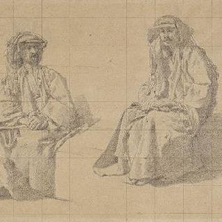 앉아 있는 아랍인들에 대한 두 습작