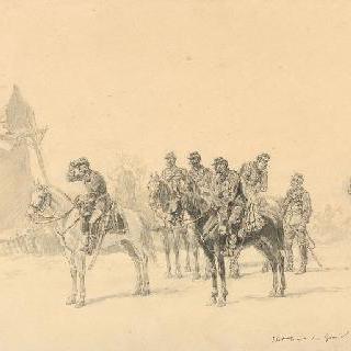 1871년 1월 2일 샤롱 장군 참모