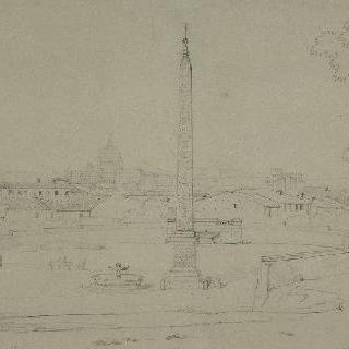 로마의 생트 마리 뒤 푀플 광장
