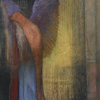 수염난 날개달린 노인