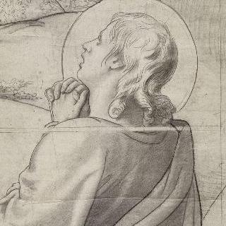 예수 수난상의 우측 부분