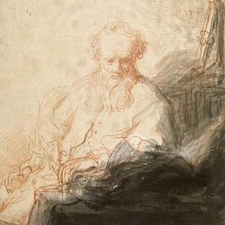 명상하는 성 바오르 사도