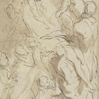 루벤스의 십자가에서 내려지는 그리스도풍의 습작