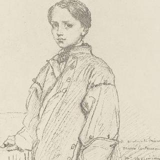 어린 알렉상드르 무루시의 초상