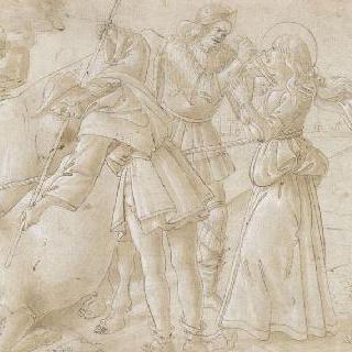 성녀 루시아의 순교