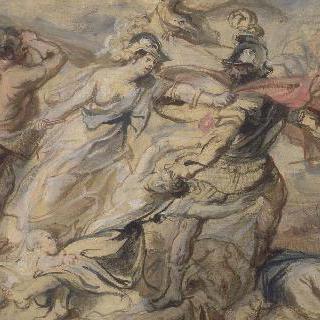 마르스를 격퇴하는 미네르바와 헤라클레스