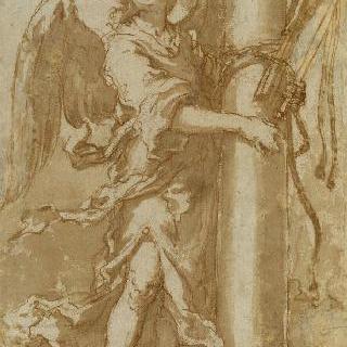 그리스도의 수난의 도구를 들고 있는 천사 연작 : 태형의 도구들