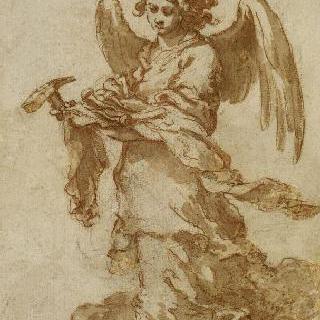 그리스도의 수난의 도구를 들고 있는 천사 연작 : 못과 망치