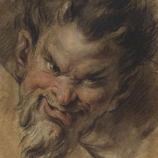 사티로스의 얼굴