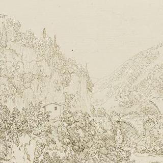 생 코시마토의 협곡 전경