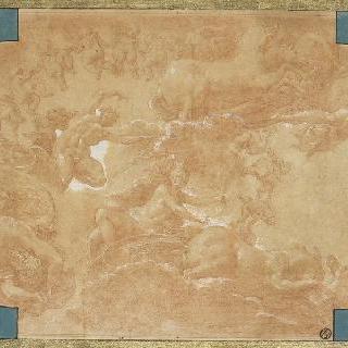 전차 위의 아폴론과 다이아나와 다른 인물