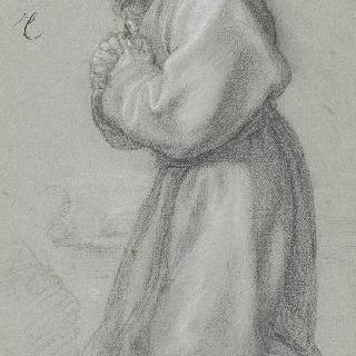 기도하는 성 프랑수아