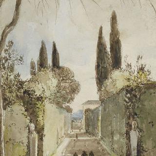 로마 빌라 메디치의 산책길