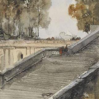 베르사유의 오랑주리 미술관의 계단