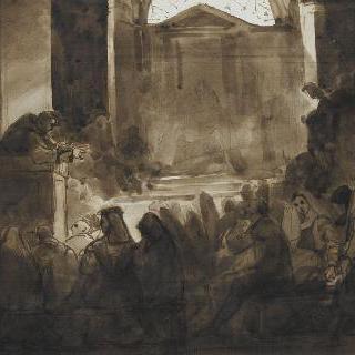 로마 산타 비비에나 성당에서의 서약