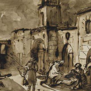1720년 엑스 지방의 흑사병