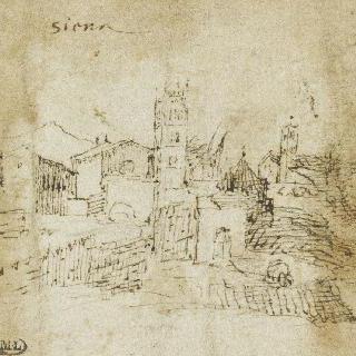 도시가 있는 풍경 : 시에나에서 바라본 전경