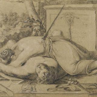 티라모스와 티스베의 죽음
