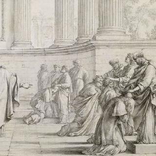 7명의 부사제들의 안수