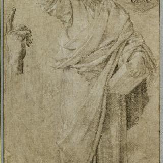설교하는 성 바오르, 두 손의 분리된 습작