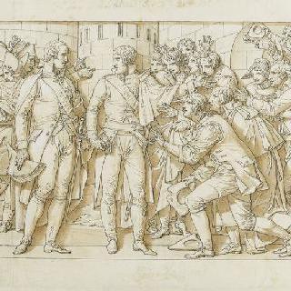 카루젤의 개선문 : 1805년 10월 뮌헨에 도착