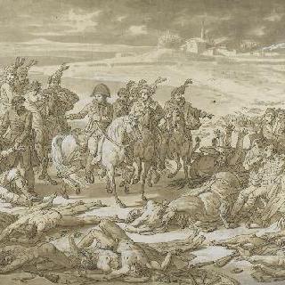1807년 월 8일 에일로의 전투에서의 나폴레옹