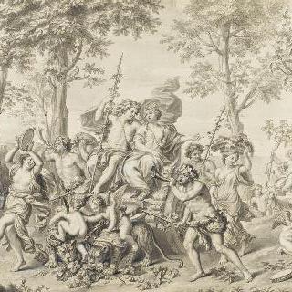 바쿠스와 아리아드네의 승리 : 가을