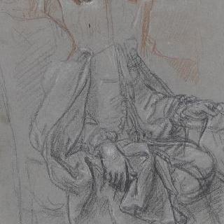 콜베르 드 빌라세르프의 초상 습작