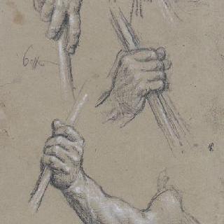 그리스도와 병사들의 손 습작