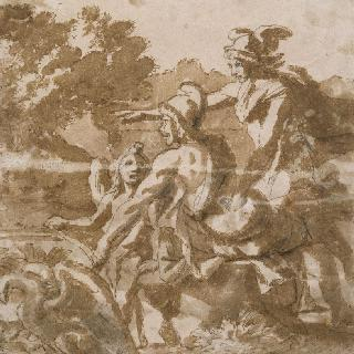 헤르메스, 파리스와 에로스