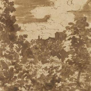 바닥에 누운 아도니스가 있는 풍경