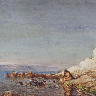 앙티브의 바위, 크루통