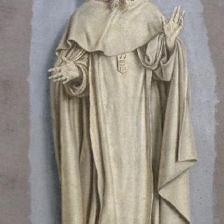 서 있는 황홀경의 성 베드로 놀라스크