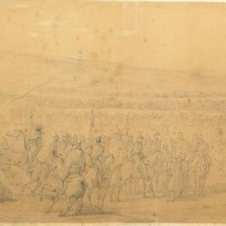 1843년 이동 천막 탈환 이후 타귄의 귀환
