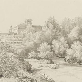 티볼리의 테베로네의 아랫쪽 뜰