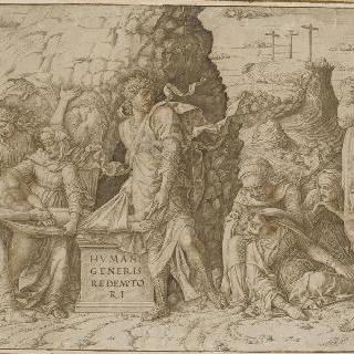그리스도의 매장과 성모의 기절