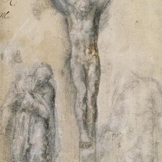 십자가에 매달린 그리스도, 성모와 성 요한