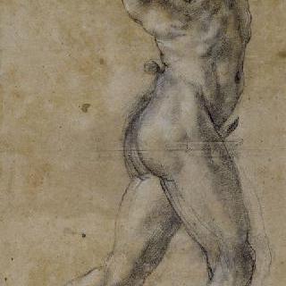 춤추는 벌거벗은 목신 또는 각적을 부는 남자