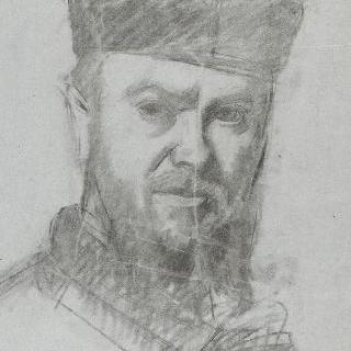 자화상, 습작, 피렌체의 우피치 미술관