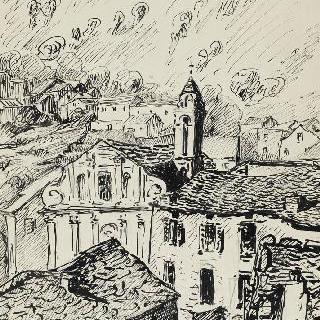 코르시카 마을