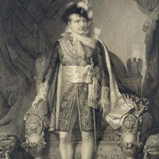 마리 루이즈 도트리슈 황녀와의 결혼식 복장의 나폴레옹 1세