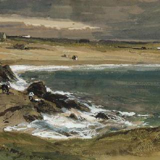 생세르방 부근의 해변