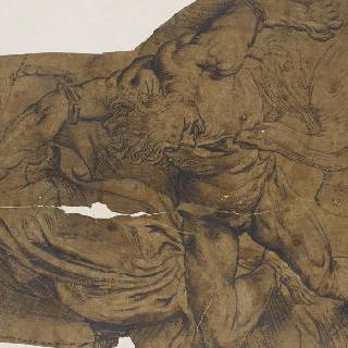 쇠사슬에 묶인 프로메테우스의 간을 쪼아먹는 독수리