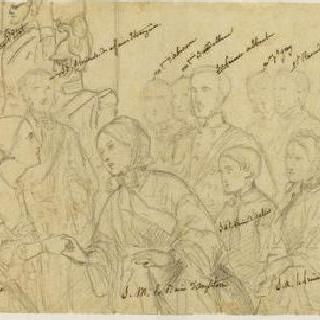 생 클라우드에서의 나폴레옹 3세가 주관한 빅토리아 여왕의 리셉션