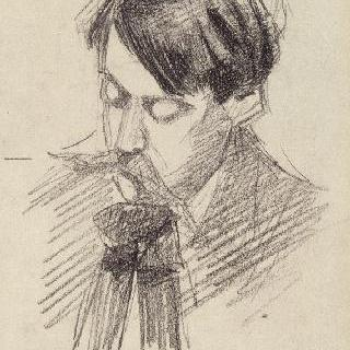 앙리 비엘의 초상, 페르낭 레제르 화가의 친구
