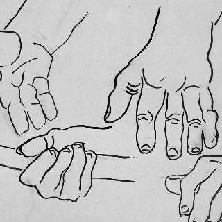 무제, 건설자들의 손 습작