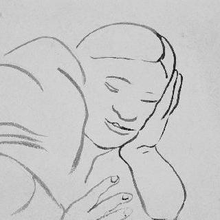 무제, 누워있는 여인
