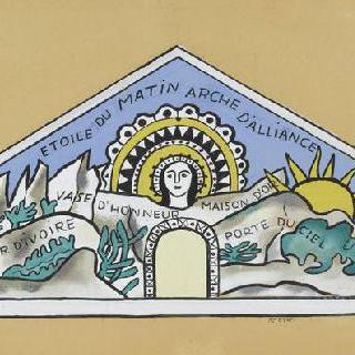 다시 성당의 첫 번째 상태, 산셀모즈, 오트 사부아