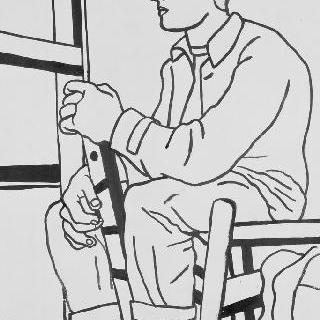 무제, 앉아있는 노동자