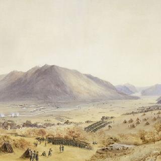 1799년 9월 25일 아침 술트가 지휘하는 군대의 빌텐 지역 리마트 통과